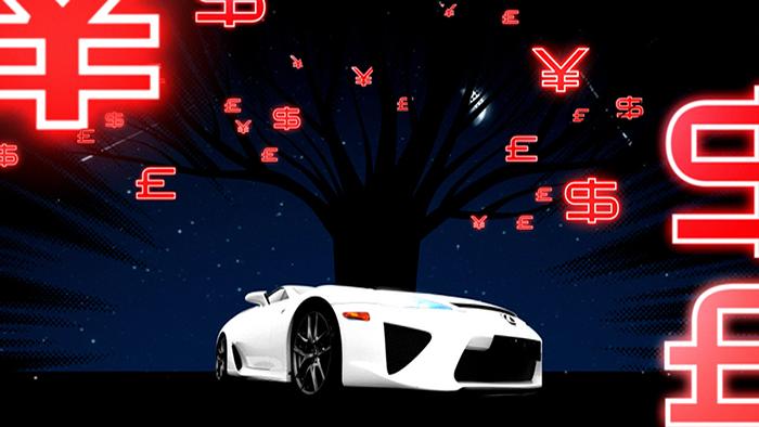 Top Gear Lexus Supercar Intro Uk Design Direction
