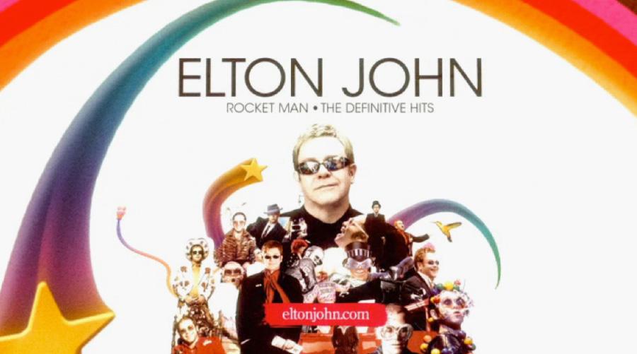 Elton John Rocket Man Intro Uk Design Direction