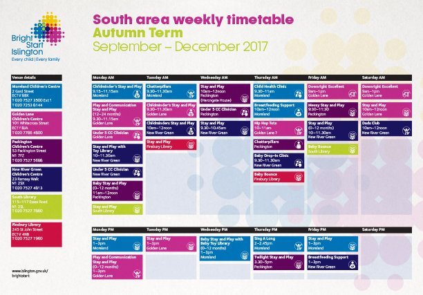 Bright Start timetable 612w x 427h px
