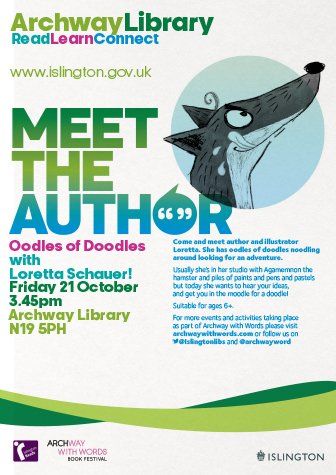 Islington Libraries poster 336w x 475h px