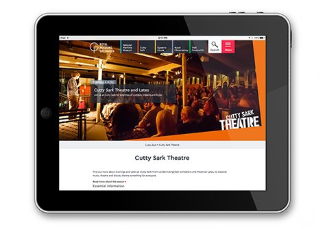 Cutty Sark Theatre website 474x335px