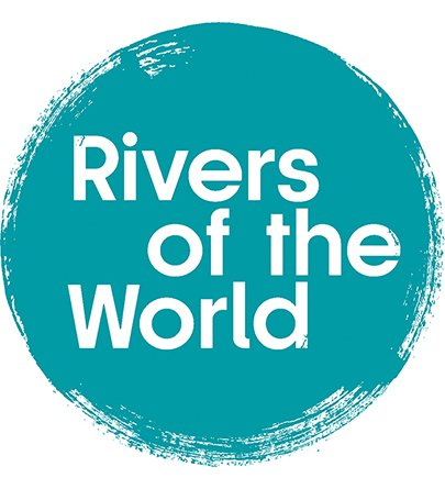 Rivers of the World Logo Roundel Blue RGB 405x405px