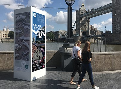 Totally Thames Kid's Choir plinth 405x297px
