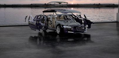 Jaguar X260 Interior